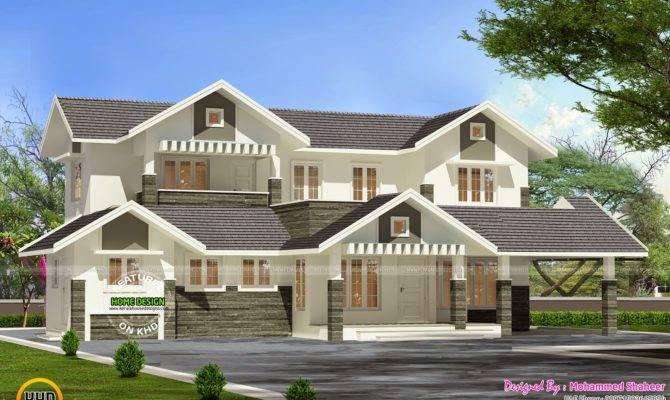 Modern Villa Plan Kerala Home Design