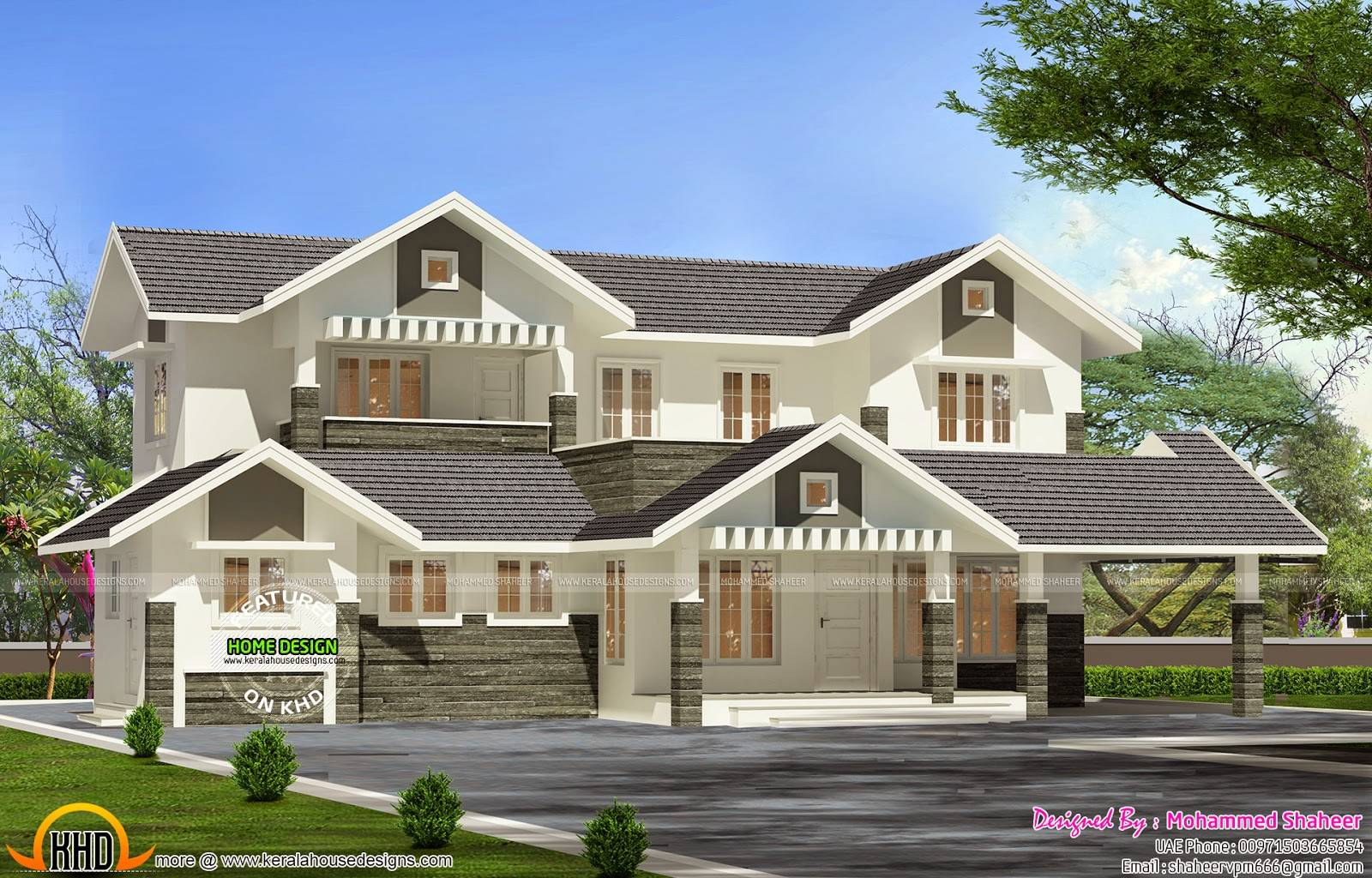 Modern Villa Plan Kerala Home Design