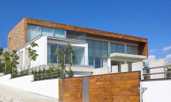 Modern Wood House Exterior Interior Design Home