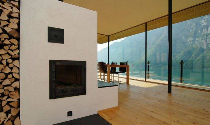 Modern Wood House Interior Design