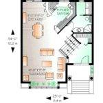 Modern Zero Lot Line House Plans
