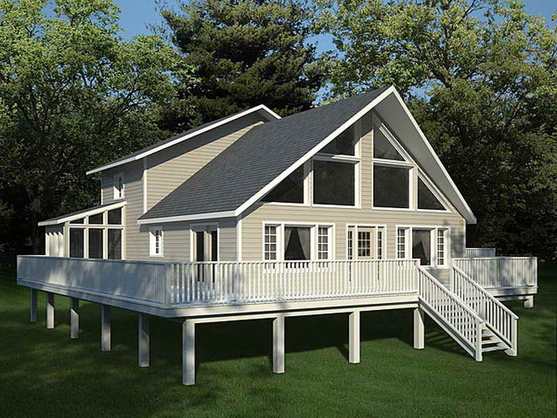 Modified Frame House Plans Home Small Timber