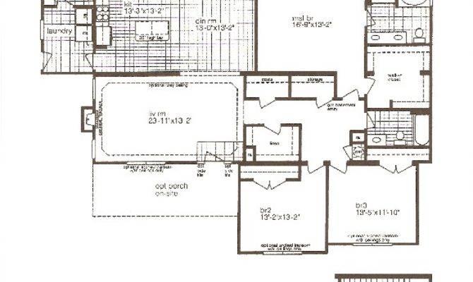 Modular Floor Plans Basement Garage Unique House