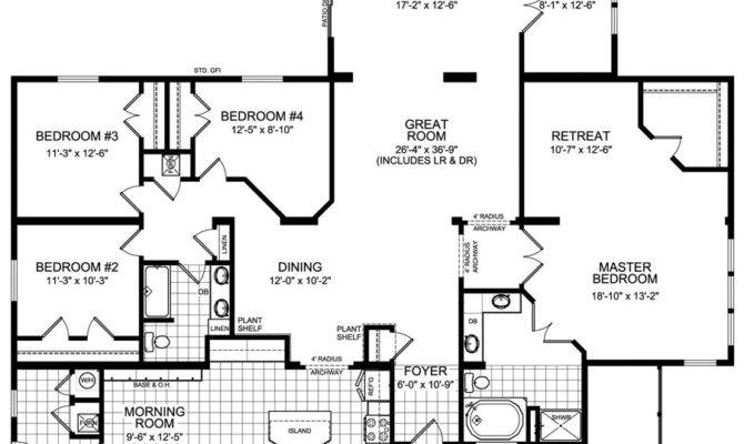 Modular Home Bedroom Plans