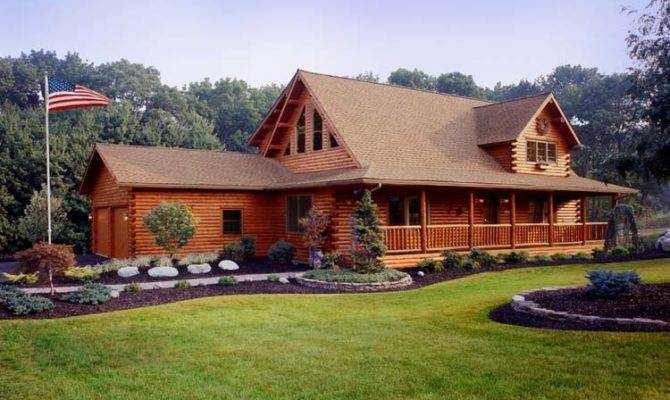 Modular Home Homes Look Like Log Cabins