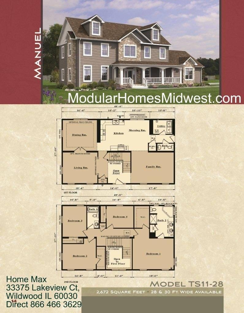 Modular Home Homes Open Floor Plans