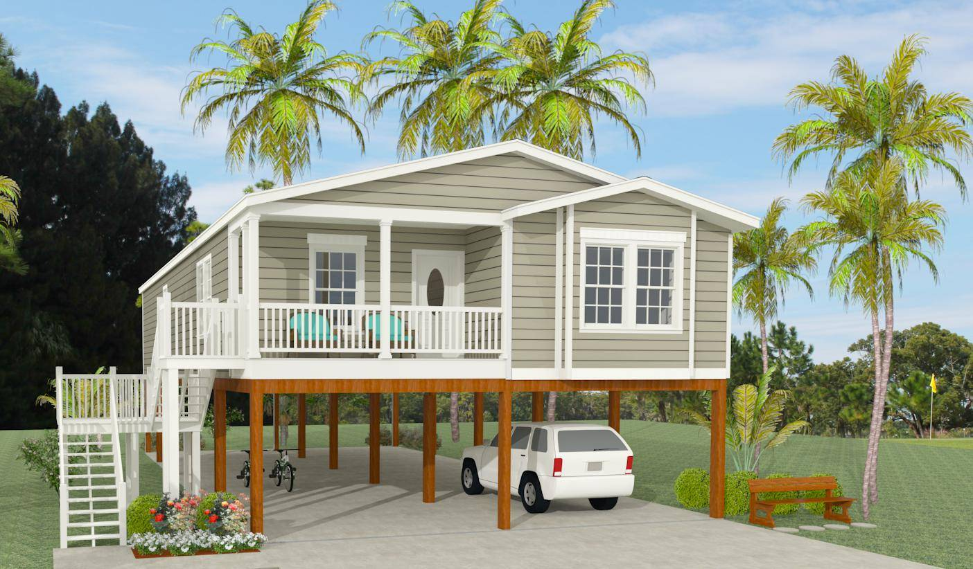 Modular Home Plans Pilings