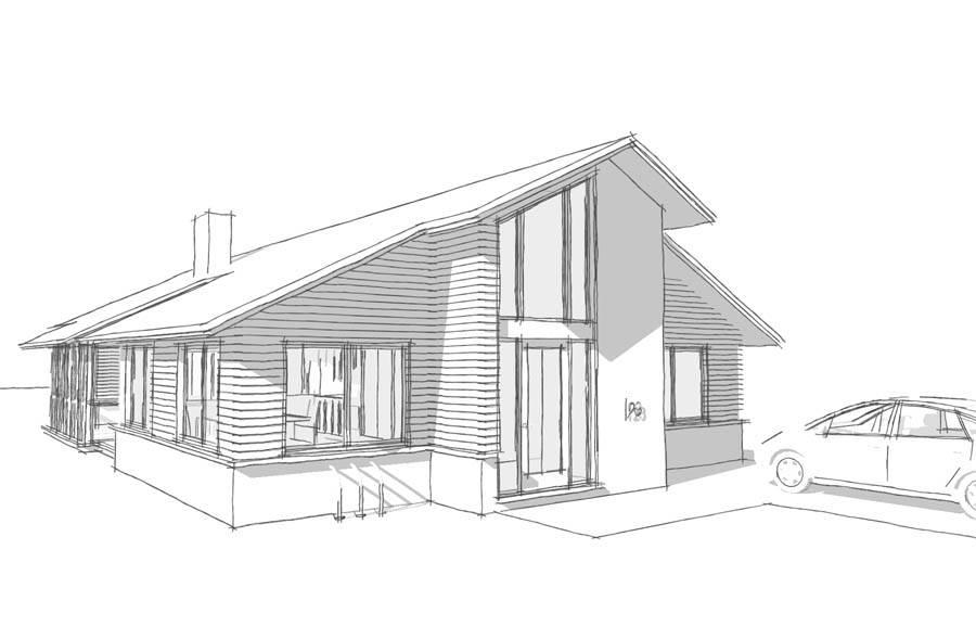 Modular Infill Rusty Long Architect