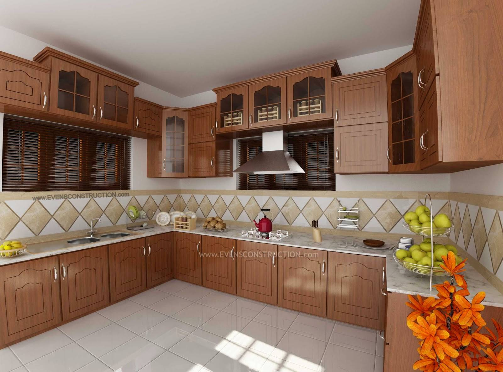 Modular Kitchen Kerala Home Design Amazing