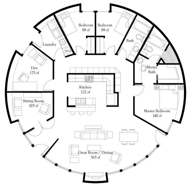 Monolithic Dome Home Floor Plans Engineer Aspect
