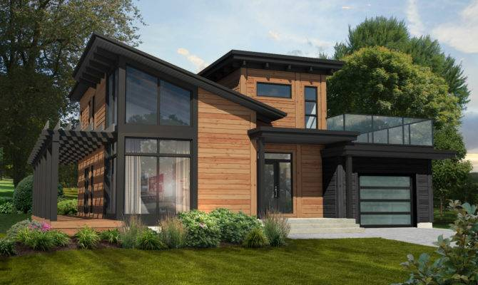 Monterey Wins Favorite Contemporary Home Plan Timber