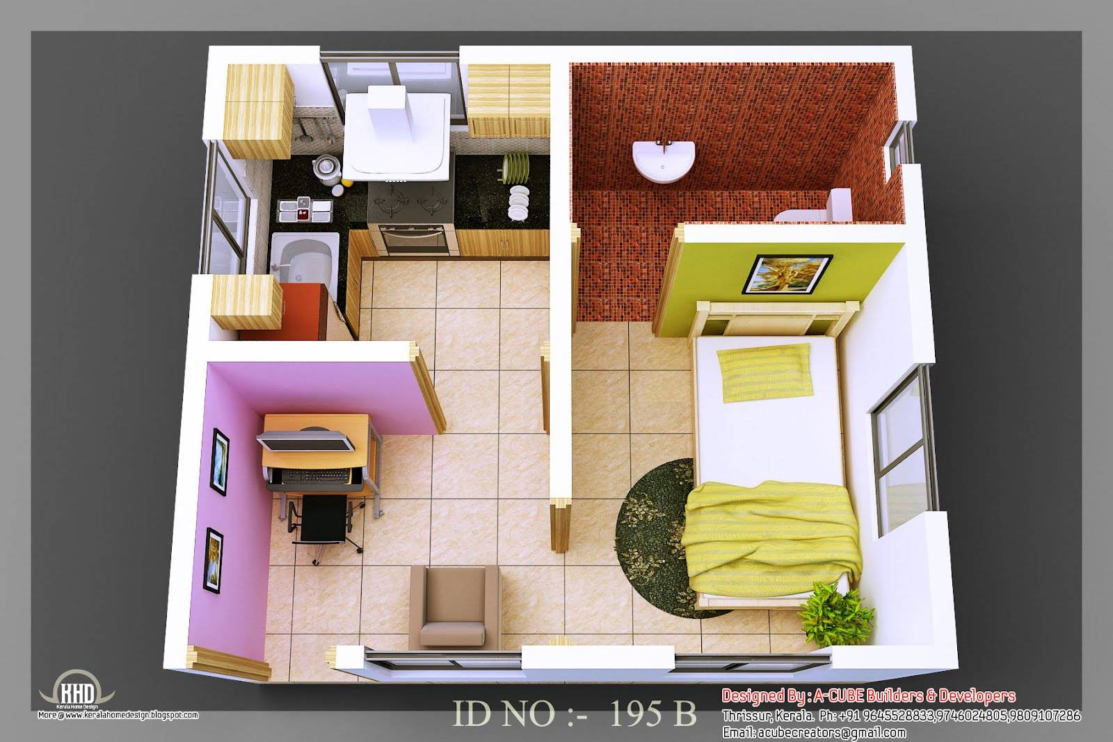 More Information Isometric Small House Plans