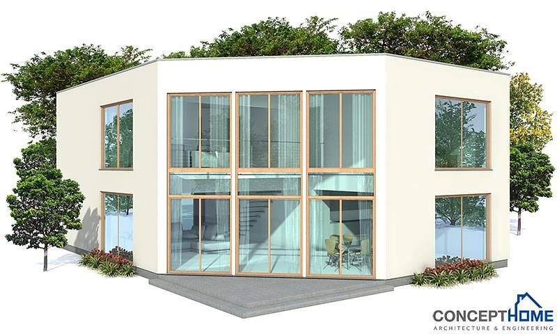 More Modern Economical Home Plans