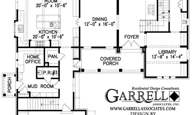 Moss Stone Cottage House Plan Courtyard Plans