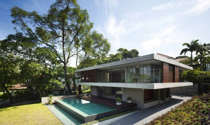 Most Beautiful Homes World Jkc House Ong Singapore