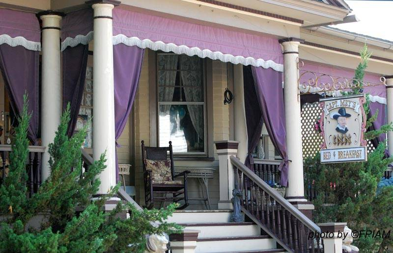 Most Colorful Front Porch Appealing Curtains