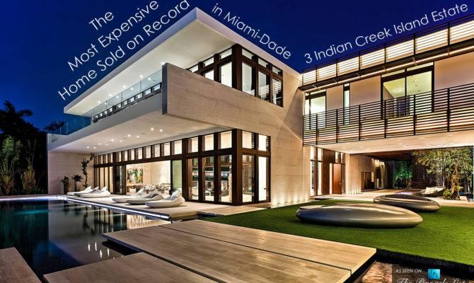 Most Expensive Home Sold Record Miami Dade Florida