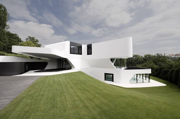 Most Futuristic House Design World Digsdigs