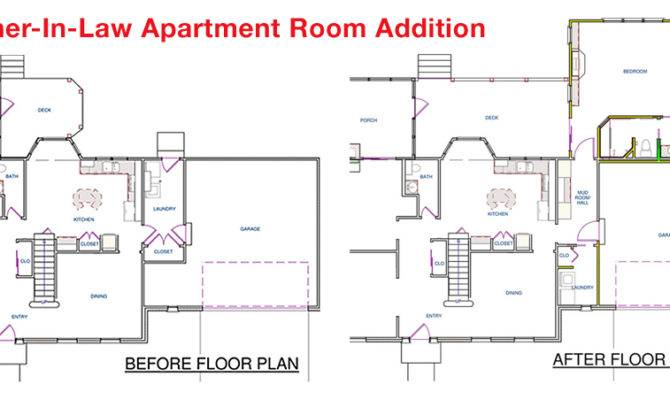 Mother Law Apartment Floorplan