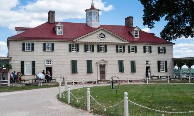Mount Vernon Virginia Plantation Home George Washington
