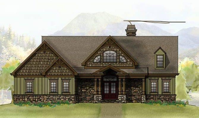Mountain Home House Plan Photos