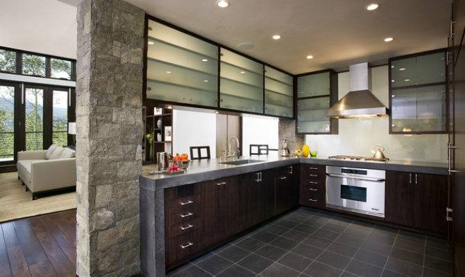 Mountain Home Kitchen Contemporary San