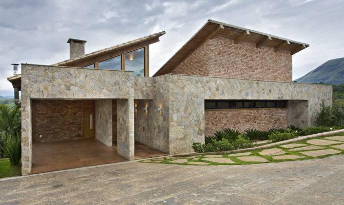 Mountain House Brazil David Guerra Nimvo Interior Design