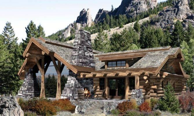 Mountain House Plan Vacation Basement