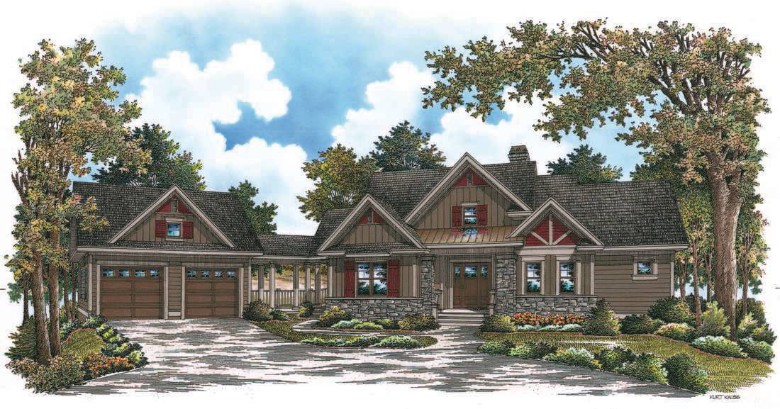 Mountain House Plans Detached Garage Home Deco