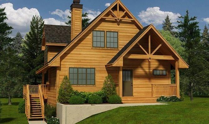 Mountain House Plans Home Plan Walkout