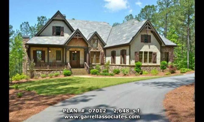 Mountain House Plans Porches