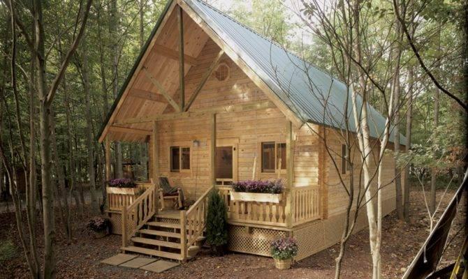 Mountain King Residential Log Cabin Kit