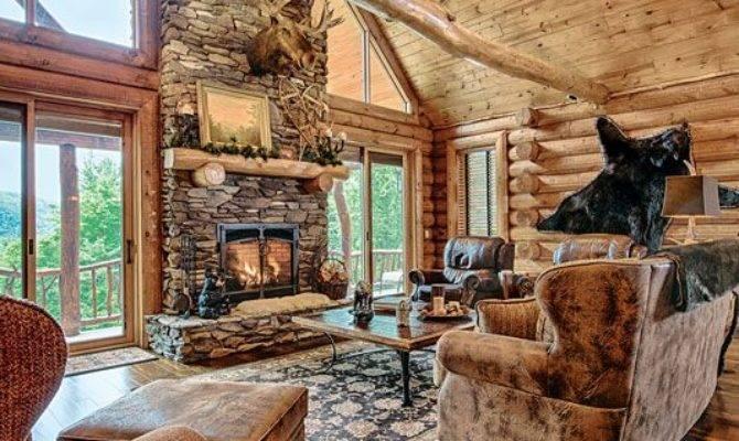 Mountain Log Home New Hampshire Pinterest