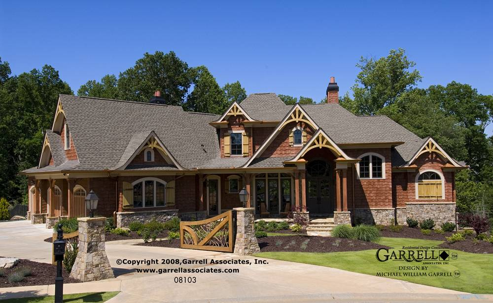 Mountain Rustic Ranch House Plans Home Deco