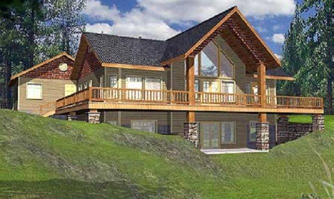 Mountain Vacation Home Plans