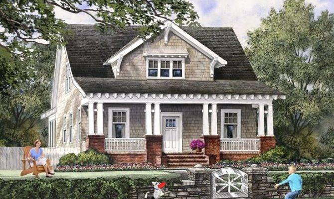 Mountains Bungalow Cottage Craftsman Farmhouse House Plan