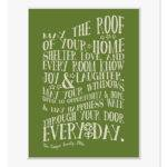 Moving House Gift Personalised New Home Prints