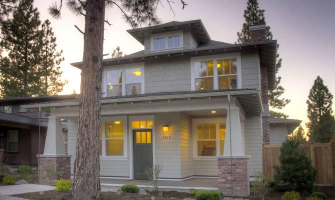 Muddy River Design Foursquare Style House Plan Northwest
