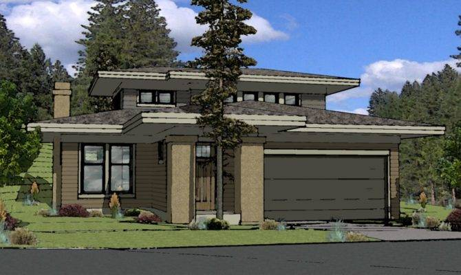 Muddy River Design Prairie Style House Plan Bend Oregon