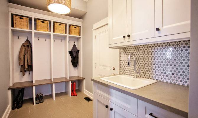 Mudroom Laundry Room Contemporary