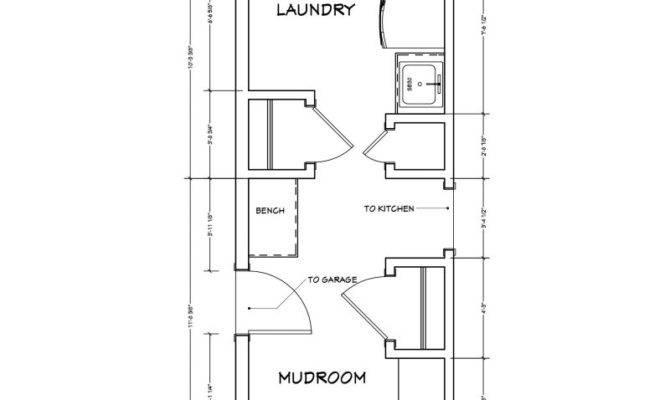 Mudroom Laundry Room Floor Plans Gurus