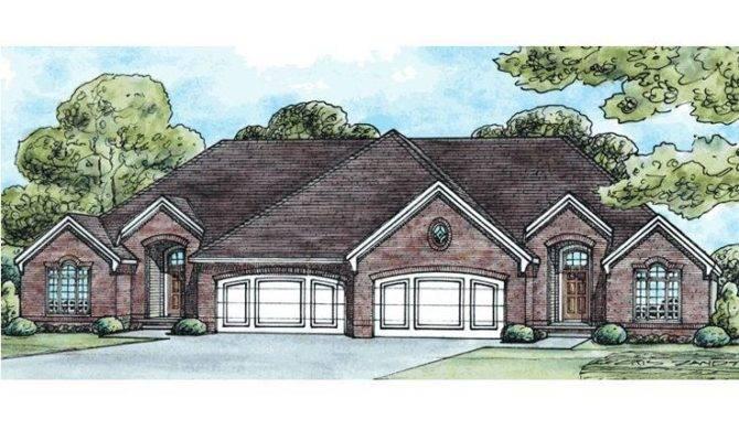 Multi House Plan Duplex Pinterest