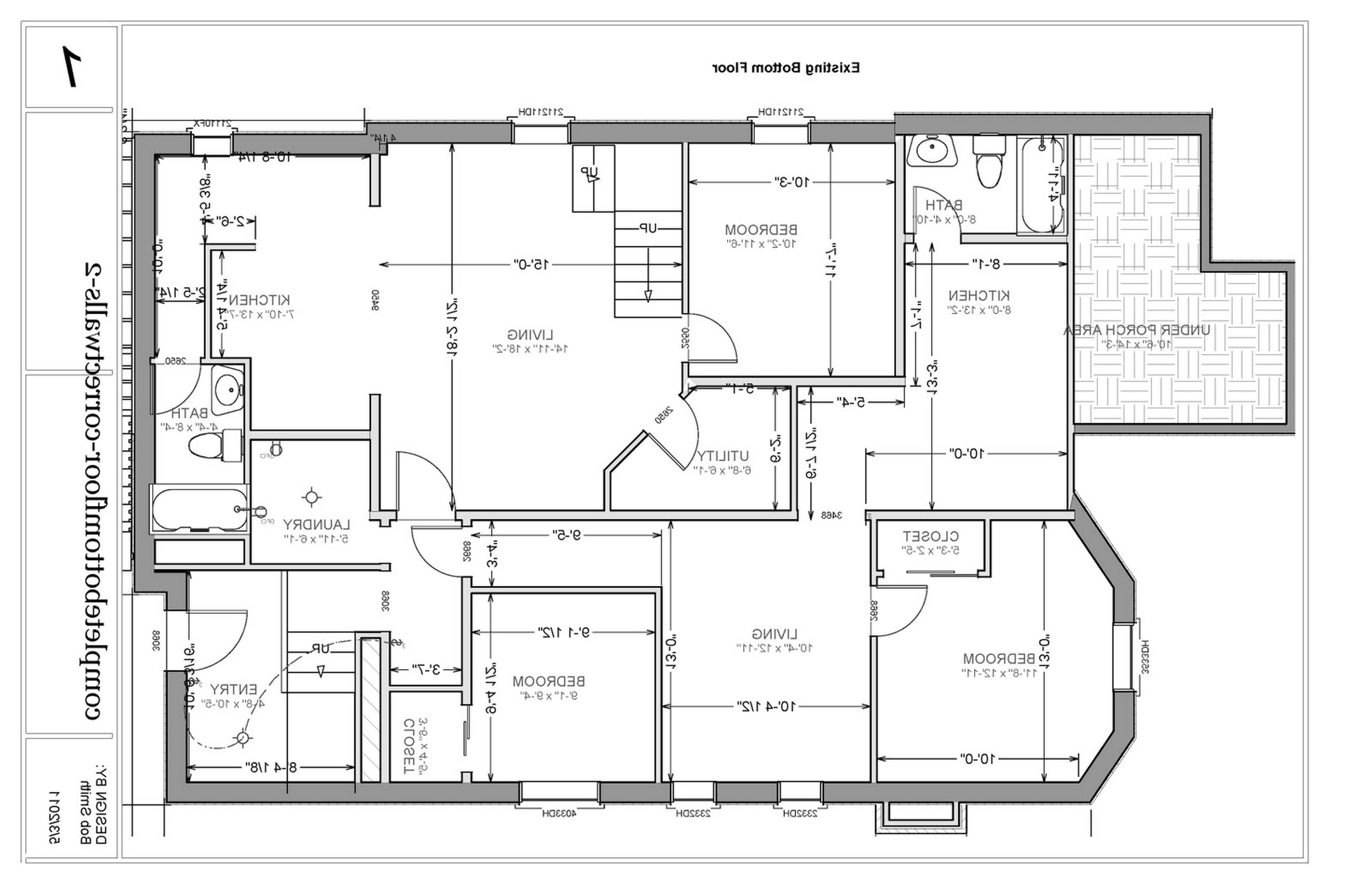 Multi House Plans Unit Home Floor Clipgoo
