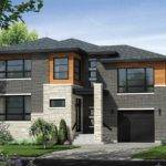 Multi Level Contemporary House Plan