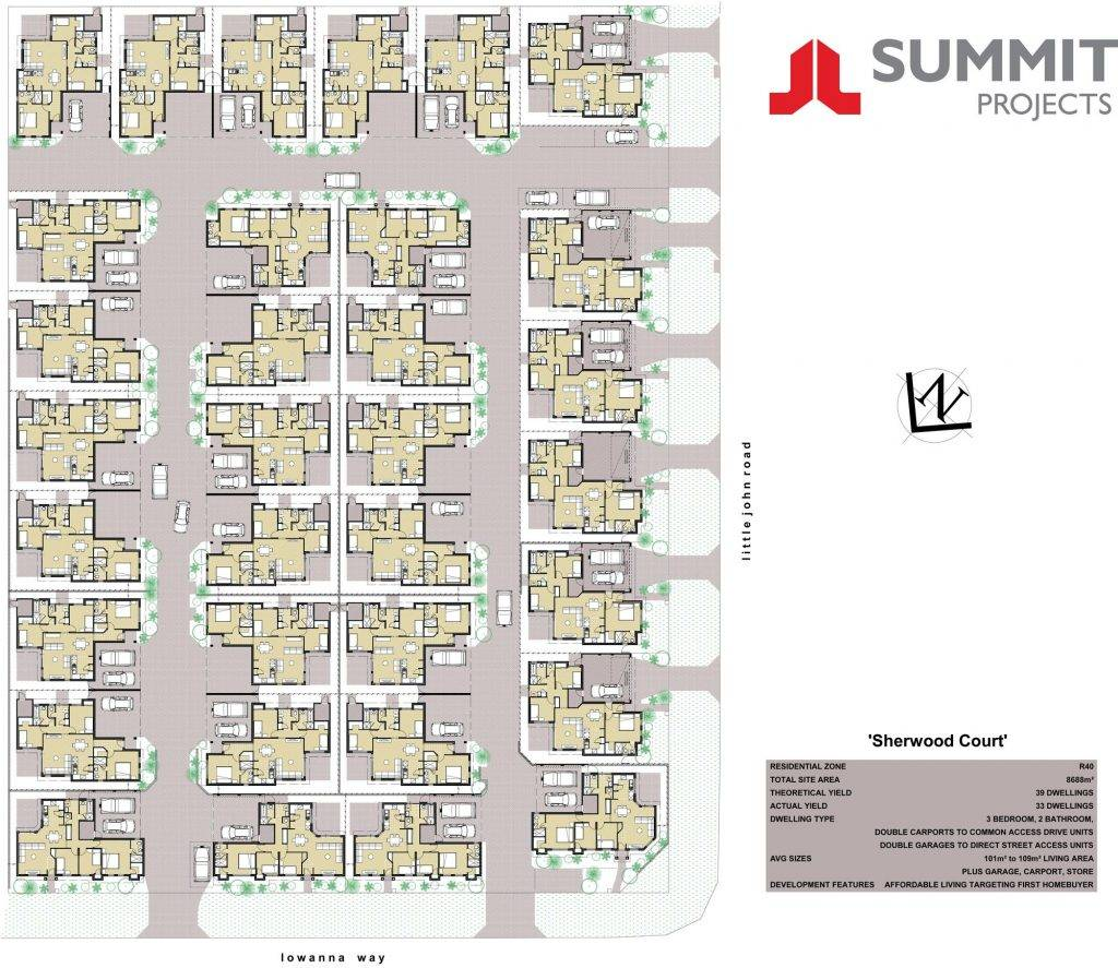 Multi Unit Home Plans Seniors House Cocodanang