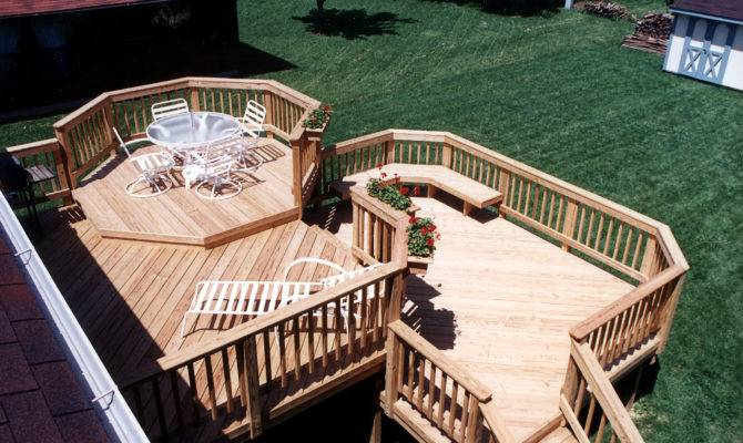 Multilevel Deck Design Ideas Archadeck Louis
