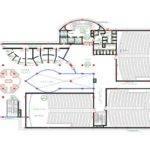 Multiplex Cinema Floor Plan Plans Garage Under House
