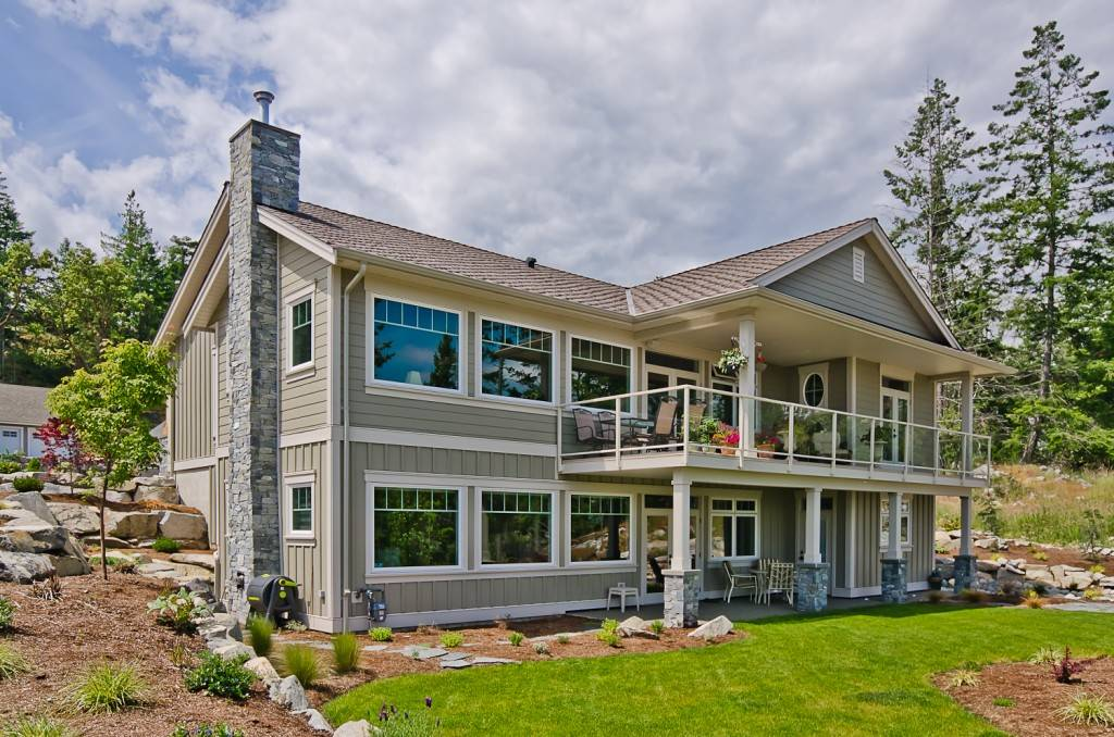 Nanoose Custom Home Built Green Gold Homes