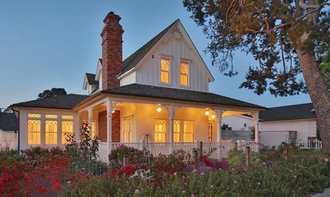 Napa Farmhouse Style Home California