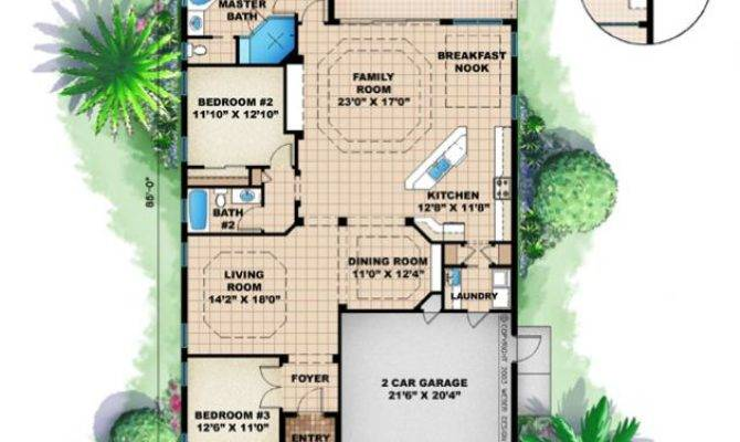 Narrow Home Plans Smalltowndjs